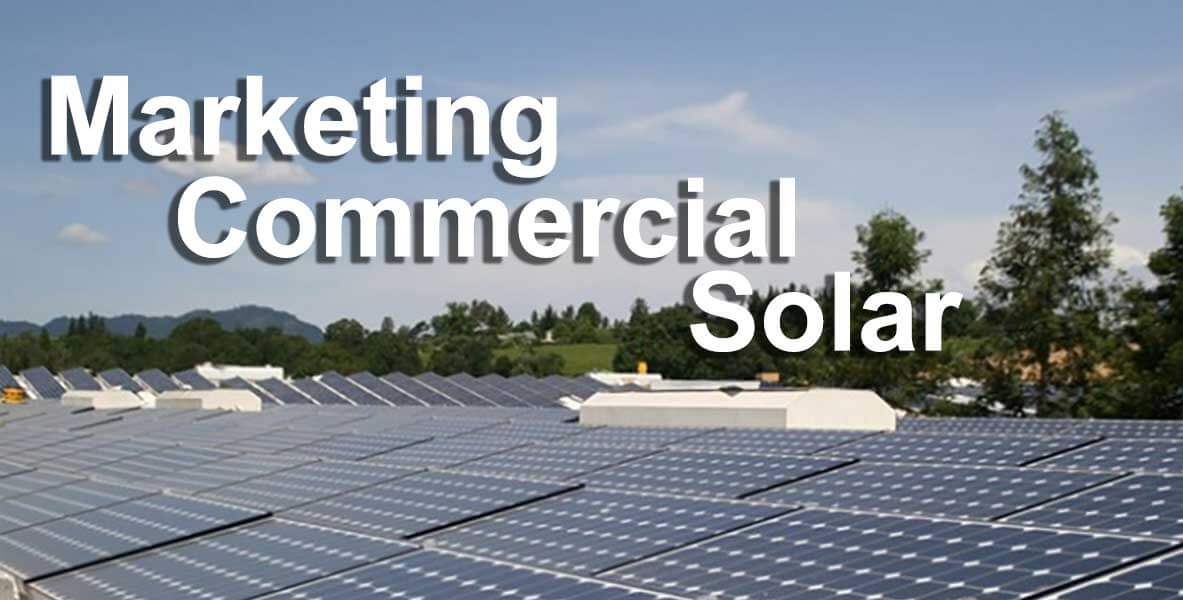 marketing commercial solar